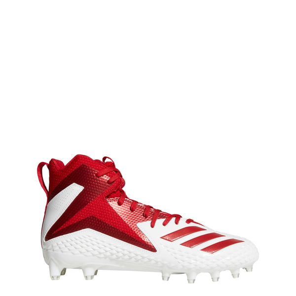 adidas freak x carbon mid football cleats white power red db0144 mens cleat