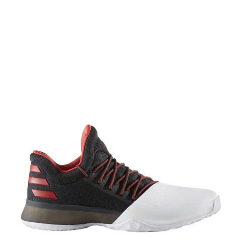 adidas harden vol 1 away black white scarlet red bw0546 james harden