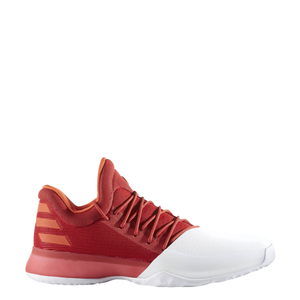 ac76f667f35f24 Adidas Harden Vol 1 Basketball Shoes - Scarlet Red   White   Energy - –  Kratz Sporting Goods
