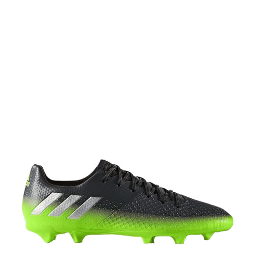 adidas messi 16.2 fg s79630 dark grey black silver green soccer cleat