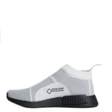 adidas nmd cs1 gtx pk white black by9404 men mens nmd_cs1 primeknit goretex shoe