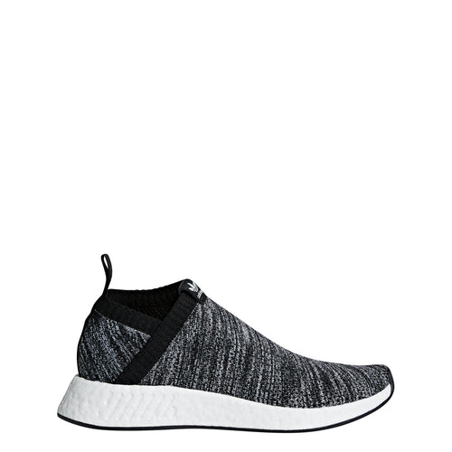 adidas nmd cs2 pk uas shoe black white grey gray da9089 nmd_cs2 city sock primeknit united arrows sons men mens nmd sale clearance closeout shoes