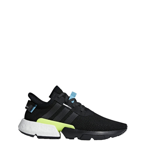 adidas pod-s3.1 running shoe black grey gray white blue yellow aq1059 men mens 2018 boost run sale closeout clearance shoes