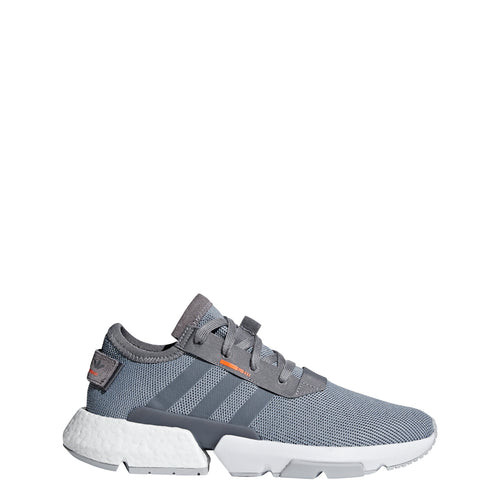 adidas pod-s3.1 running shoe grey gray orange black white b37365 men mens 2018 boost run shoes