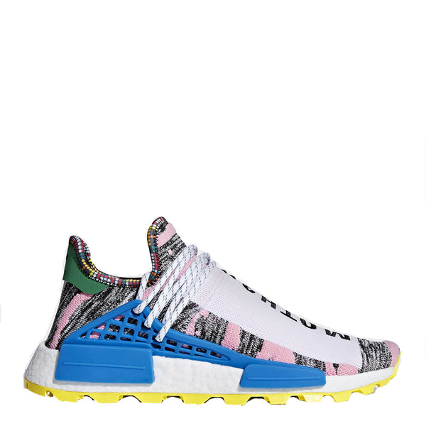 3cc9689a2 adidas pharrell williams pw solar hu nmd shoe mother land moth3r white pink  yellow black grey ...