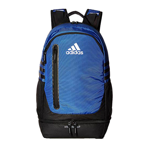 adidas pivot backpack bold blue royal black 5141101 water resistant soccer basketball volleyball sports team bag