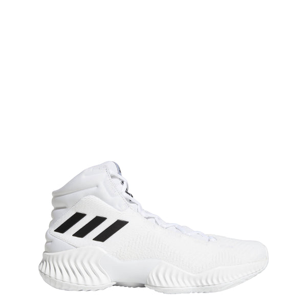 adidas pro bounce 2018 basketball shoe white black ac7429 men mens men's shoes