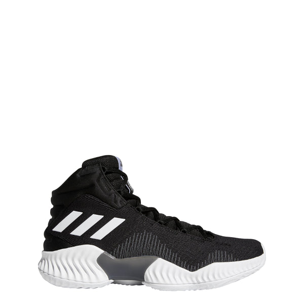 5040df65607 adidas pro bounce 2018 basketball shoe black white grey ah2658 men mens  men s shoes