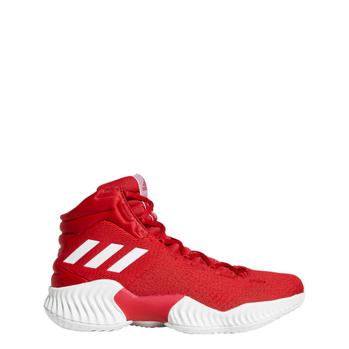 adidas pro bounce 2018 basketball shoe red white scarlet ah2663 men mens men's shoes