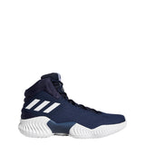 adidas pro bounce 2018 basketball shoe navy blue white ah2666 men mens men's shoes