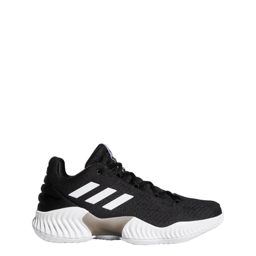 adidas pro bounce 2018 low basketball shoe black white ah2673 men men's mens team shoes