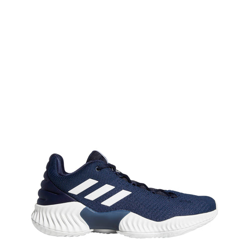 adidas pro bounce 2018 low basketball shoe navy blue white ah2677 men men's mens team shoes