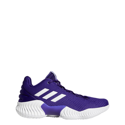 adidas pro bounce 2018 low basketball shoe royal blue white ah2678 men men's mens team shoes
