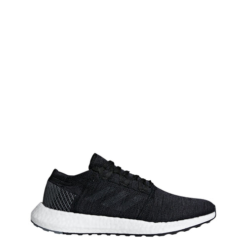 adidas pureboost go running shoe black grey gray white ah2319 men mens pure boost 2018 shoes