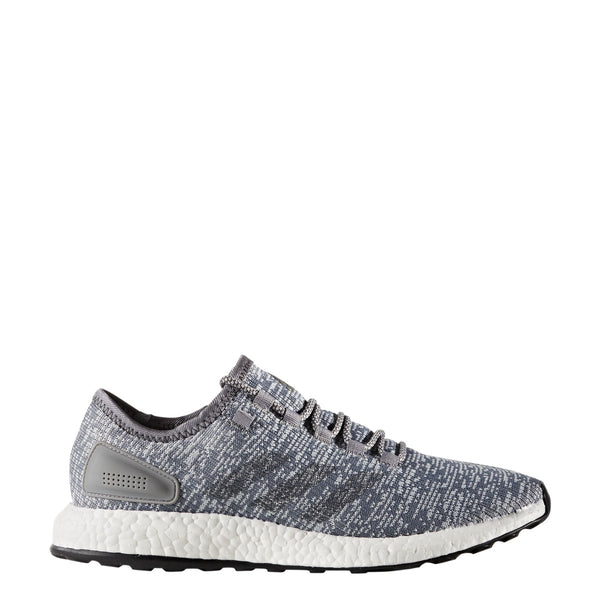 adidas pureboost running shoe grey white ba8900 men mens pure boost shoes sale closeout clearance