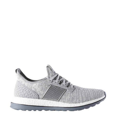 adidas pure boost pureboost zg running shoe grey gray white aq6768
