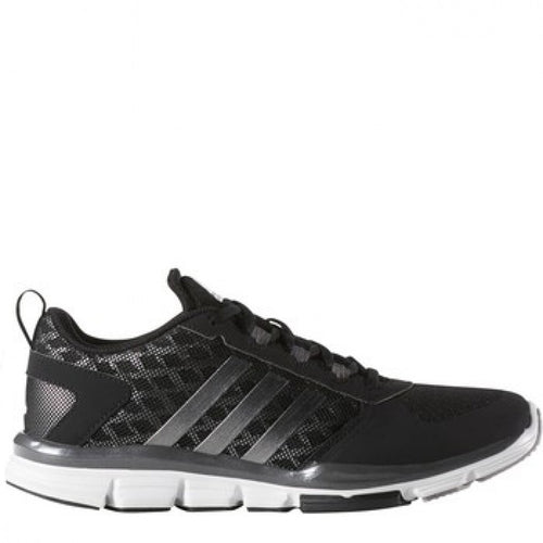 adidas men's speed trainer 2 shoe black white carbon metallic s84736 baseball turf shoes sale closeout