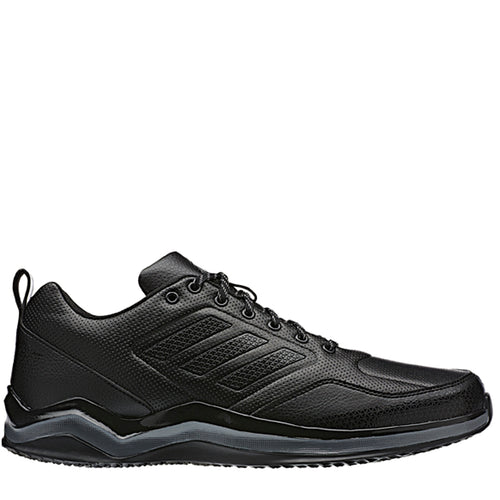 adidas speed trainer 3 sl turf baseball shoes black iron bw1074 men's mens synthetic leather training shoe basketball referee official umpire