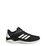 adidas speed trainer 4 turf baseball shoe black white carbon cg5131 men men's mens 2019 baseball coach shoes