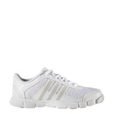adidas triple cheer shoes white peach metallic grey b35539 kids youth girls juniors cheerleading shoe