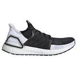 adidas ultra boost 2019 black white grey gray b37704 ultraboost 19 primeknit running shoe best performance comfortable men mens run shoes popular limited team individual sports