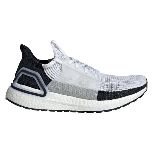 adidas ultra boost 2019 white black grey gray b37707 ultraboost 19 primeknit running shoe best performance comfortable men mens run shoes popular limited team individual sports