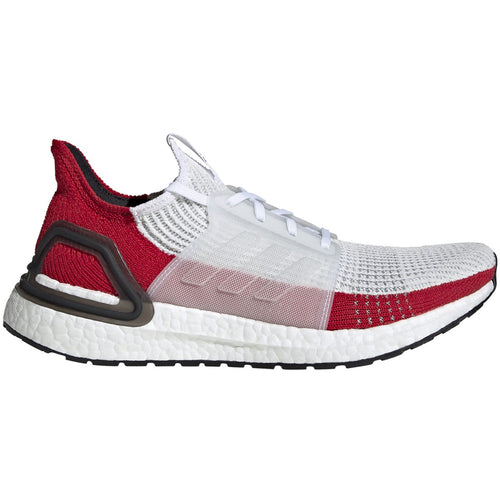 adidas ultra boost 2019 white red scarlet black ef1341 ultraboost 19 primeknit running shoe best performance comfortable men mens run shoes popular limited team individual sports