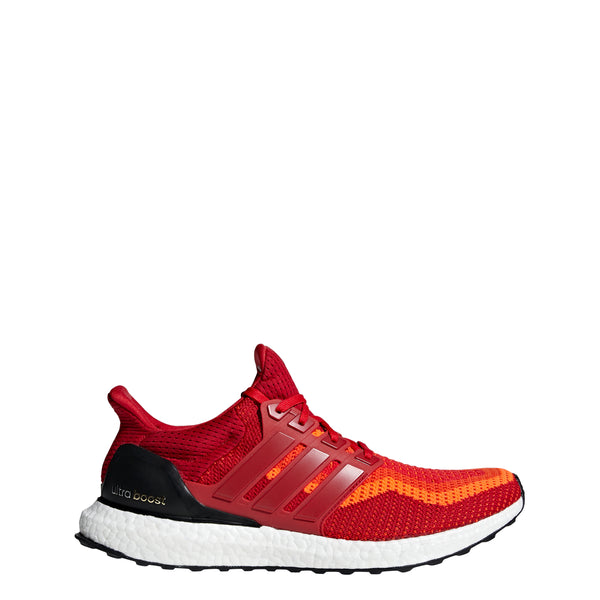 Adidas Men's Ultra Boost 2.0 Running Shoes Red Gradient AQ4006