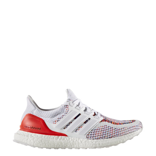 adidas ultra boost 2.0 multi-color bb3911 running shoe unvaulted ultraboost white red multicolor multicolored restock 2018 men mens men's shoes