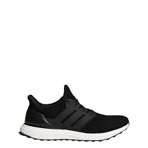 adidas ultra boost 4.0 running shoe core black white bb6166 men mens ultraboost sale closeout clearance shoes