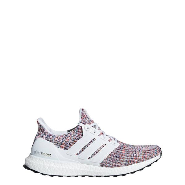 huge discount 3127d 1c6d6 adidas ultra boost 4.0 running shoe white multi multi-color multicolor navy  cm8111 men mens