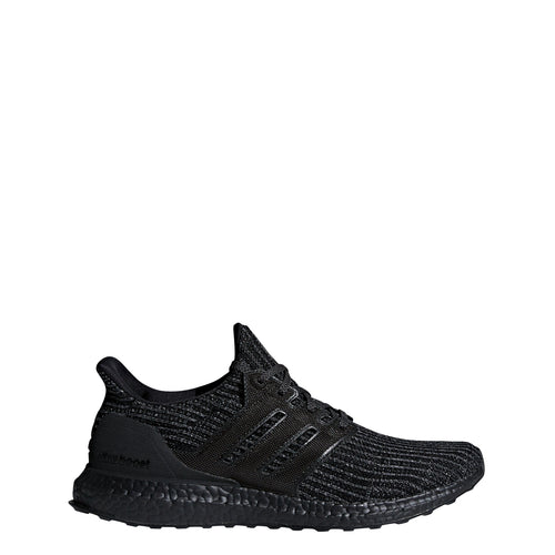 adidas ultra boost 4.0 running shoe triple black bb6171 men mens ultraboost shoes sale clearance closeout