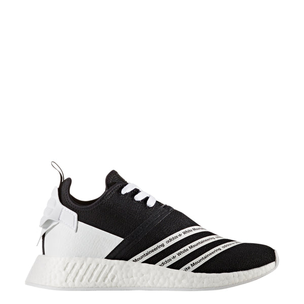 brand new 857de 5e203 Adidas Men's White Mountaineering NMD R2 PK Running Shoes - Black - CG3648