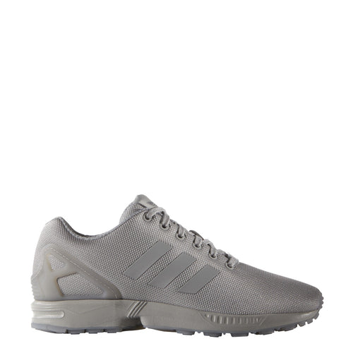 adidas zx flux running shoe grey silver gray aq3099 men mens sale closeout clearance shoes