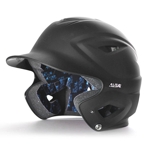 all star series seven bh3000m matte batting helmet black