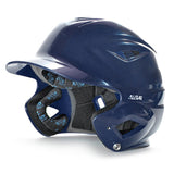 all star series seven bh3500 solid molded batting helmet navy
