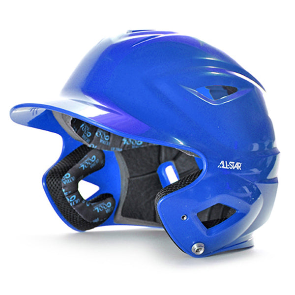 all star series seven bh3500 solid molded batting helmet royal blue