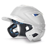 all star series seven bh3500 solid molded batting helmet white