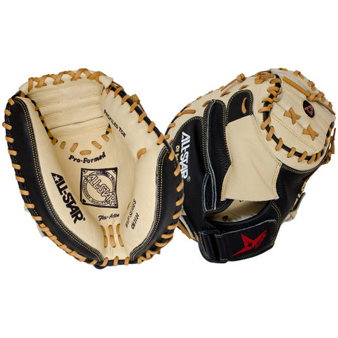 all star mvp series cm3030 catcher mitt black tan 33.5in