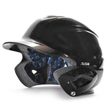 all star series seven bh3010 youth molded batting helmet black