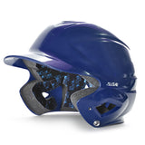 all star series seven bh3010 youth molded batting helmet navy blue