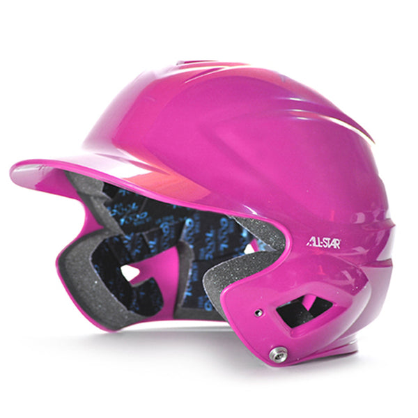 all star series seven bh3010 youth molded batting helmet pink