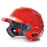 all star series seven bh3010 youth molded batting helmet scarlet red