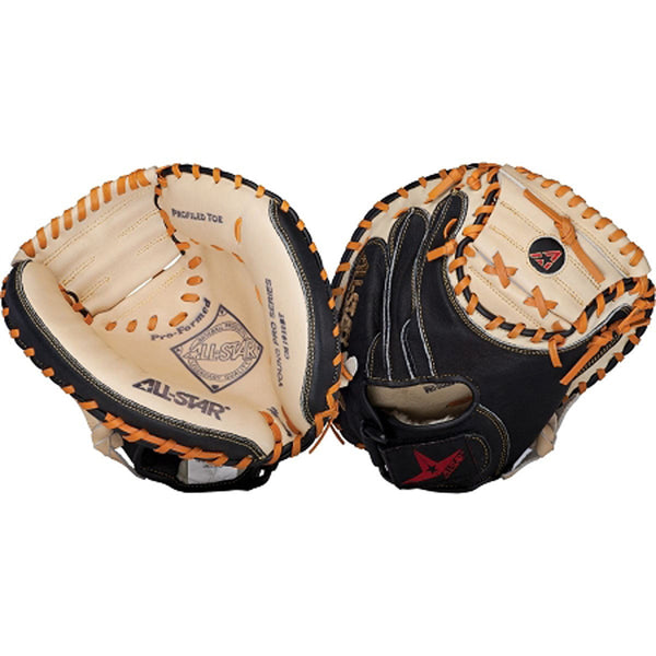 all star young pro series cm1010bt catcher mitt 31.5 youth