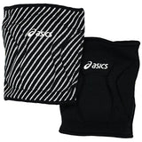 asics replay reversible volleyball knee pads black white zd1738 unisex adult kneepad 6.5 inch 6 1/2 inches