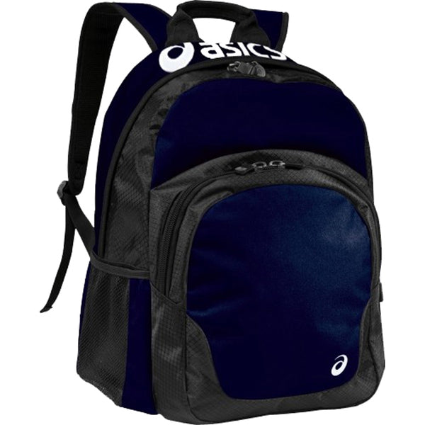 asics team backpack zr1125 navy blue black white volleyball bag youth adult men women zr1125-5090