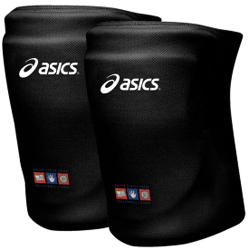 asics zd7000 youth junior volleyball knee pads black unisex osfa jr kneepad