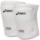 asics zd7000 youth junior volleyball knee pads white unisex osfa jr kneepad
