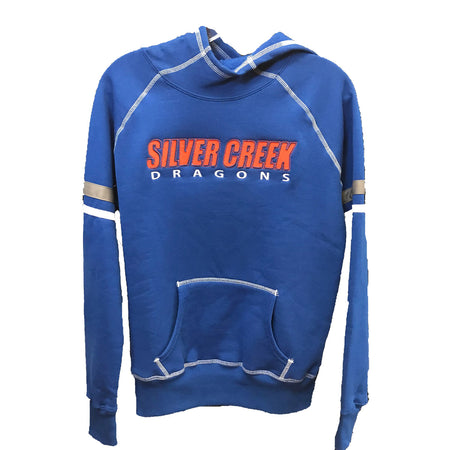 Augusta Men's Fleece Hoodie Fan Gear - Silver Creek High School