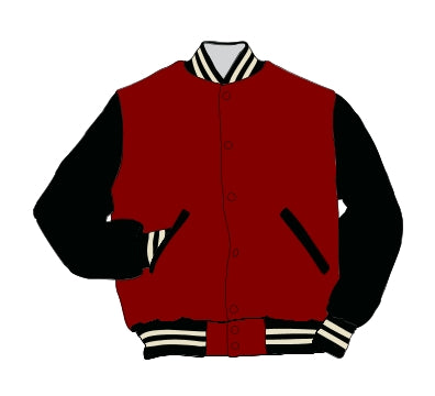 Borden HS Award Jacket - Leather Set-In Sleeve - 5101